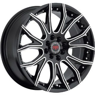 Revolution Racing RR04 18 Black Wheel / Rim 5x110 & 5x4.5 with a 40mm Offset and a 73.1 Hub Bore. Partnumber RR04 1881051101143+40BM Automotive