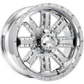 Gear Alloy Nitro 18x9 Chrome Wheel / Rim 6x5.5 & 6x135 with a 0mm Offset and a 108.00 Hub Bore. Partnumber 723C 8906800 Automotive