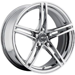 MSR 48 18 Chrome Wheel / Rim 5x4.5 with a 42mm Offset and a 82.80 Hub Bore. Partnumber 4869712 Automotive