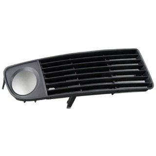Right Front Lower Fog Light Side insert Grille Grill for Audi A6 C5 Avant Quattro 98 01 1998 1999 2000 2001 Brand New Black ABS Part Number 4B0 807 682 S01C Automotive
