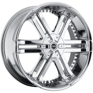 Strada Bastone 22 Chrome Wheel / Rim 5x5 & 5x135 with a 18mm Offset and a 87.1 Hub Bore. Partnumber H08250018 Automotive