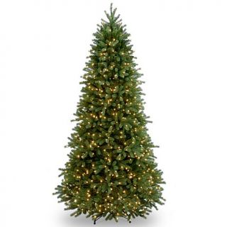 7.5 ft. FEEL REAL® Jersey Fraser Fir Slim Tree with Clear Lights