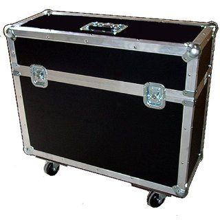 "18"" LCD LED Monitor w/Stand Attached   ATA 1/4"" Ply Case w/Wheels   Inside Dimensions   18"" x 10"" x 19 1/2"" High Musical Instruments"