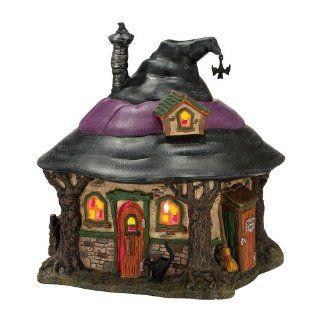 Department 56 4025341 Snow Village Halloween from Department 56 Hilda's Witch Haunt Lit House, 7.1 Inch   Collectible Figurines