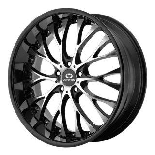 Lorenzo WL027 19x9.5 Black Wheel / Rim 5x112 with a 32mm Offset and a 72.60 Hub Bore. Partnumber WL02799556332A Automotive