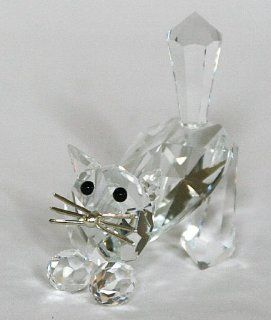 Cat, Preciosa Crystal Figurine   Collectible Figurines