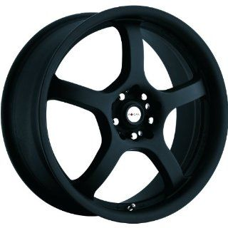 Focal F 05 17 Black Wheel / Rim 5x110 & 5x115 with a 42mm Offset and a 73 Hub Bore. Partnumber 166 7710B Automotive