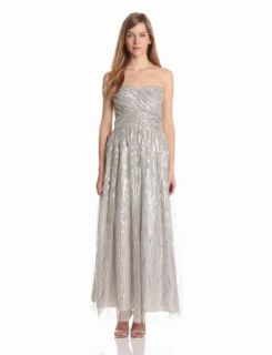Hailey by Adrianna Papell Women's Dresses Sequin Mesh Ballgown Clothing