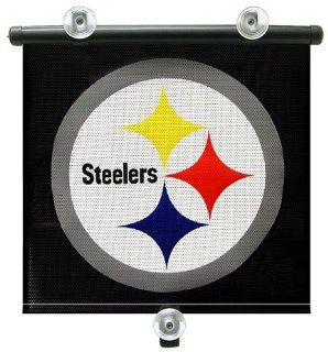 "PITTSBURGH STEELERS Team Logo Car Window BABY / CHILD SUN SHADE (14"" x 18"")  Automotive Accessories  Sports & Outdoors"