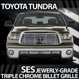2010 2012 Toyota Tundra SES Chrome Billet Grille (top & bottom) Automotive