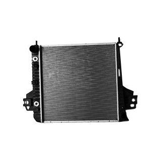 TYC 2481 Jeep Liberty 1 Row Plastic Aluminum Replacement Radiator Automotive