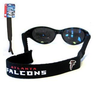 Atlanta Falcons Neoprene Sunglass Strap   NFL Football Fan Shop Sports Team Merchandise Sports & Outdoors