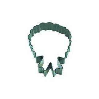Dress My Cupcake DMC41CC113SET Christmas Wreath Cookie Cutter, 4 Inch, Green, Set of 12 Kitchen & Dining