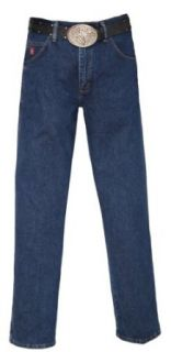 Wrangler Men's PBR Jean, Relaxed Fit, Dark Denim, 27W x 34L at  Men�s Clothing store