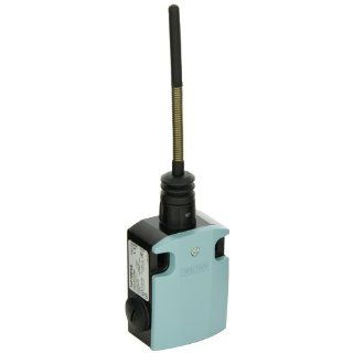 Siemens 3SE5 122 0CR01 International Limit Switch Complete Unit, Spring Rod, 56mm Metal Enclosure, 50mm Plastic Plunger, 142.5mm Length, Snap Action Contacts, 1 NO + 1 NC Contacts Electronic Component Limit Switches