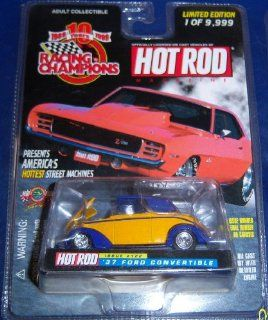 Hot Rod # 122 '37 Ford Convertible Toys & Games