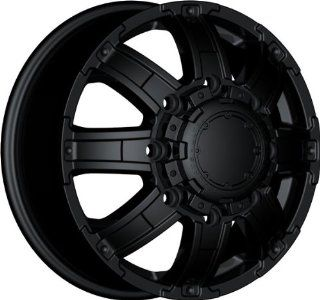 ULTRA   type 24 gauntlet dually   17 Inch Rim x 6.5   (8x210) Offset (129) Wheel Finish   Matte black Automotive