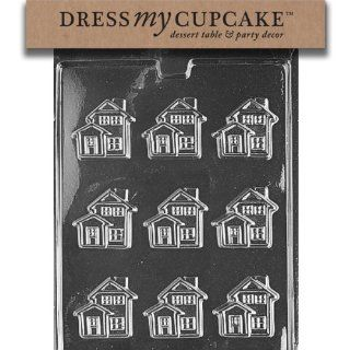 Dress My Cupcake Chocolate Candy Mold, Little House Kitchen & Dining