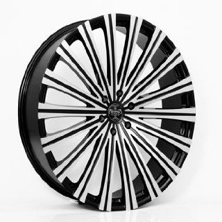 "20"" Wheels Rims Versante Ve230 Black Machined Face 6x135 6x139.7 Automotive"