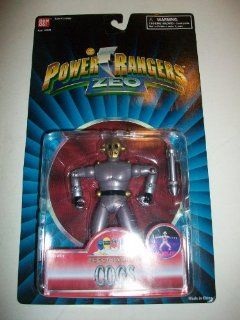 "Power Rangers Zeo 1996 Chest Beating Cogs Evil Space Alien MOSC MOC 5 1/2"" Figure Toys & Games"