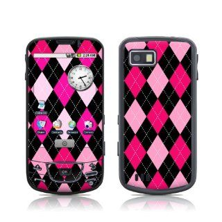 Argyle Style Design Protective Skin Decal Sticker for Samsung Galaxy I7500 Cell Phone Electronics