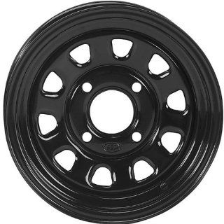 ITP Delta Steel Wheel   12x7   5+2 Offset   4/137   Black, Wheel Rim Size 12x7, Rim Offset 5+2, Color Black, Bolt Pattern 4/137 1225573014 Automotive