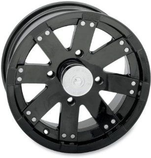 Vision Wheel Type 158 Buck Shot Rear Wheel   14x8   4+4 Offset   4/137   Black , Wheel Rim Size 14x8, Rim Offset 4+4, Bolt Pattern 4/137, Color Black, Position Rear 158PU148136GB4 Automotive
