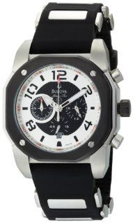 Bulova Men's 98B139 Marine Star Black Dial Watch Bulova Watches