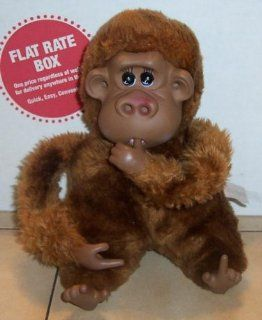 "1979 Rutherford the 2nd Monkey 10"" Stuffed Animal Plush Toy By Russ Berrie Toys & Games"