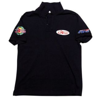 JT Racing Patch Polo Shirt   Oval Patch
