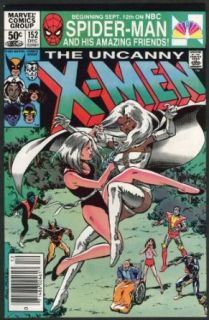 UNCANNY X MEN #152 Marvel comic book 12 1981 Star Wars Empire Strikes; Lego ads Collectibles & Fine Art