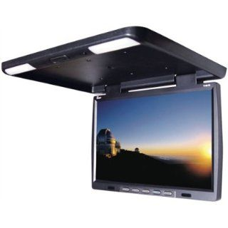 Tview T156ir 15.4 Roof Mount Overhead Flip Down Lcd Car Monitor W/ Remote  Vehicle Overhead Video