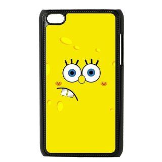 Cartoon SpongeBob SquarePants Personalized Music Case Ipod Touch 4th Case Cover for Ipod Touch 4th Generation IT4SS153  Players & Accessories
