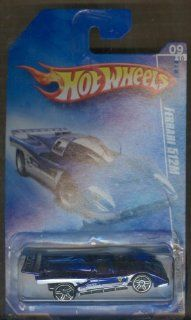 2009 Hot Wheels Special Feratures 09 of 10 Ferrari 512m 095/166 164 Scale Toys & Games