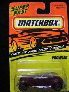 Plymouth Prowler Matchbox Super Fast Series #34