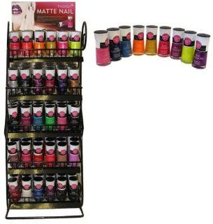 180 Pc Matte Nail Polish Hot New Style Free Counter Top Display Rack (180 Pie