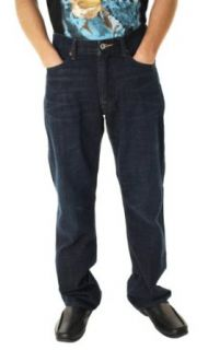Lucky Brand Men's 181 Relaxed Fit Straight Leg Midrise Jeans 30 X 32 at  Men�s Clothing store