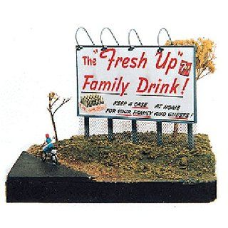TELEPHONE POLE STYLE BILLBOARD KIT (2)   JL INNOVATIVE DESIGN HO SCALE MODEL TRAIN ACCESSORIES 176 Toys & Games