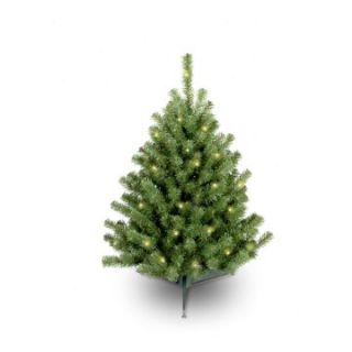 3 ft. Eastern Spruce Pre Lit Christmas Tree   Clear   Christmas Trees