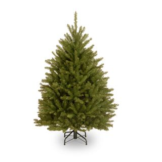 Dunhill Fir Hinged Christmas Tree   Christmas Trees
