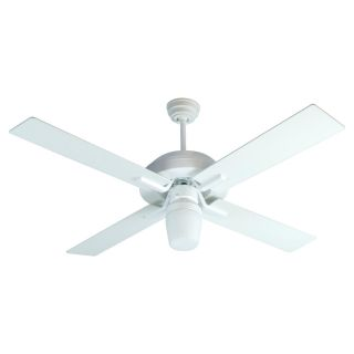 Craftmade SB52W South Beach 52 in. Indoor / Outdoor Ceiling Fan   White   Ceiling Fans