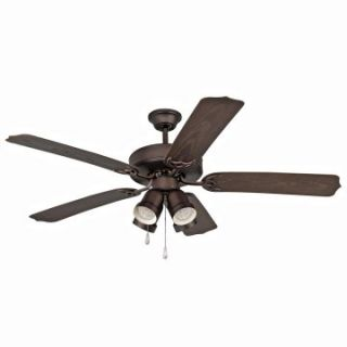 Yosemite Home Decor SHARON RB Sharon 52 in. Indoor/Outdoor Ceiling Fan   oil rubbed Bronze   Ceiling Fans