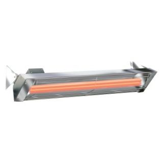 Infratech 61.25 in. Dual Element 6000 Watt Stainless Steel Quartz Heater   Electric Patio Heaters