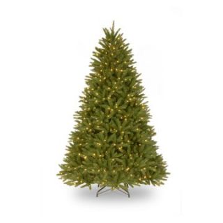 7.5 ft. Feel Real Belmar Fir Hinged Pre Lit Christmas Tree   Christmas Trees