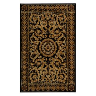Safavieh Naples NA514B Area Rug   Black/Gold   Area Rugs
