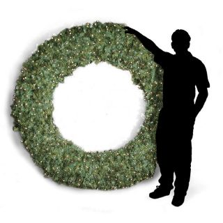 84 in. Pre lit Christmas Wreath   Christmas Wreaths