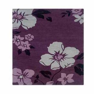 Linon RUG TATO Trio with a Twist Floral Area Rug   Area Rugs