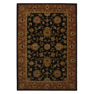 Safavieh Heritage HG112A Area Rug   Black/Red   Area Rugs