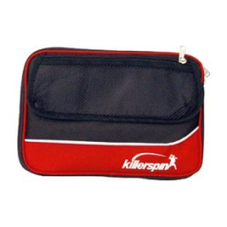 Killerspin Optima Table Tennis Paddle Bag   Red/Black   Table Tennis Equipment