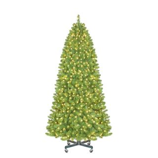9 ft. Sequoia Pre Lit LED Slender Christmas Tree   Christmas Trees
